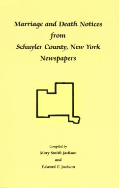 Marriage and Death Notices from Schuyler County, New York Newspapers, Jackson, Mary Smith; Jackson, Edward F.
