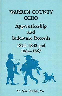 Warren County Ohio Apprenticeship and Indenture Records: 1824 - 1832 and 1864 - 1867, Phillips, W. Louis