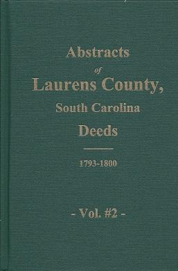 Laurens County, South Carolina Deeds: 1793-1800, Vehorn, Larry