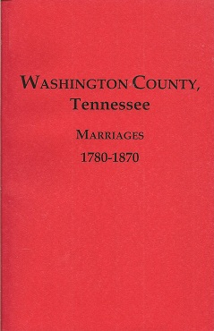 Washington County Tennessee Marriages 1780-1870, Burgner, Goldene