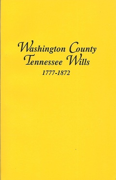 Washington Country Tennessee Wills 1777 1872, Burgner, Goldene