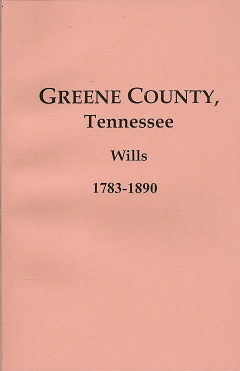 Greene County, Tennessee, Wills, 1783-1890, Burgner, Goldene Fillers