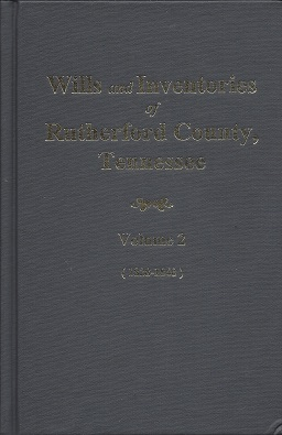 Wills of Rutherford County, Tennessee, Marsh, Helen .; Marsh, Timothy