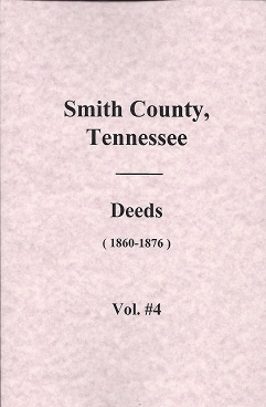 Smith County, Tennessee, Deed Books (1860-1876), Partlow, Thomas