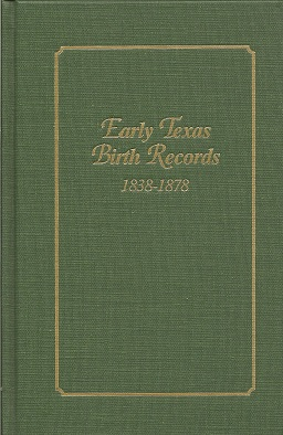 Early Texas Birth Records 1838-1878, Sumner, Jane