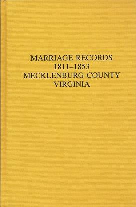 Marriage Records 1811 1853 Mecklenburg County Virginia, Elliott, Katherine B.