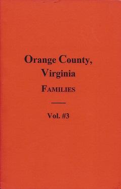 Orange County, Virginia Families, Brockman, W. E.