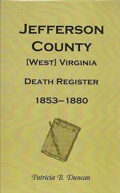 Jefferson County, Virginia/West Virginia, Death Records, 1853-1880, Duncan, Patricia B.