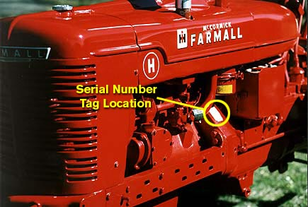 dating your h Ford 8N Serial Number Lookup farmall h serial number location the