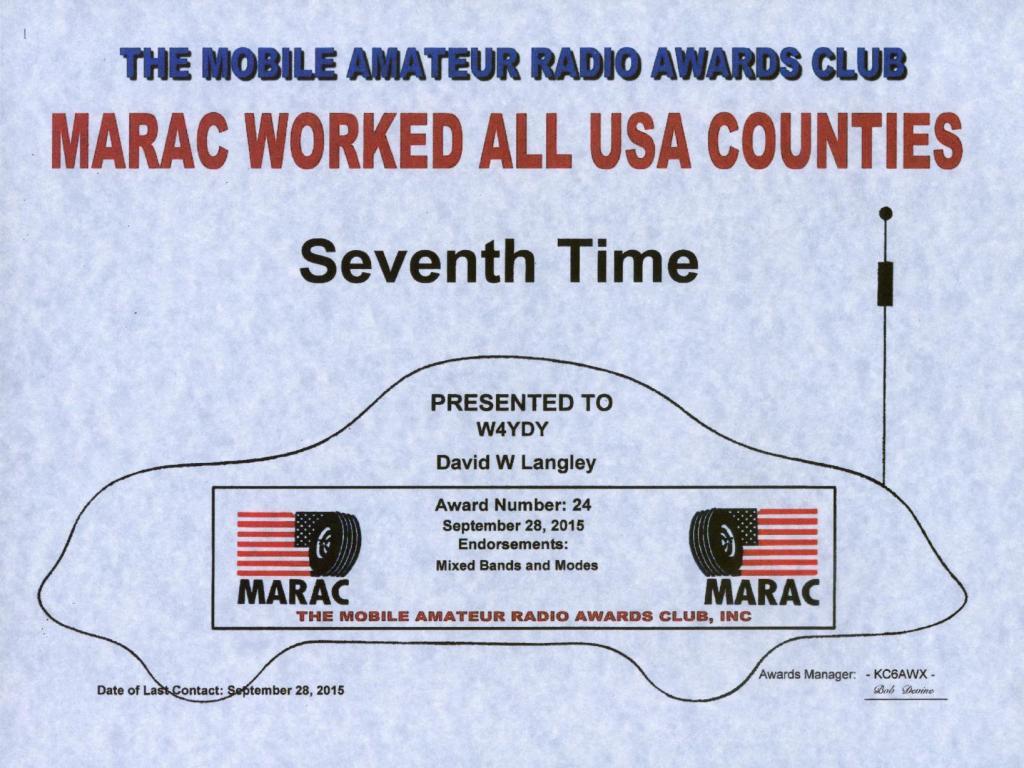 W4ydy Amateur Radio W 4 Yakkey Dee Yak Suddenlink Wiring Diagram Usaca 7th Time