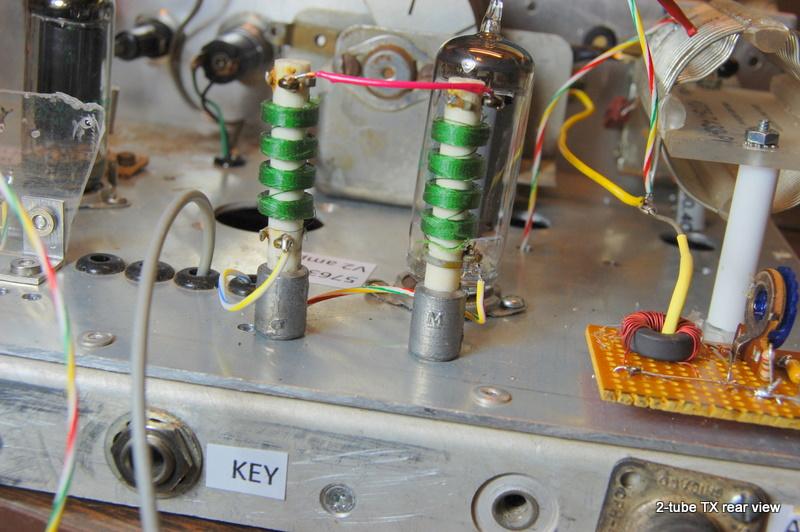 2-tube qrp transmitter