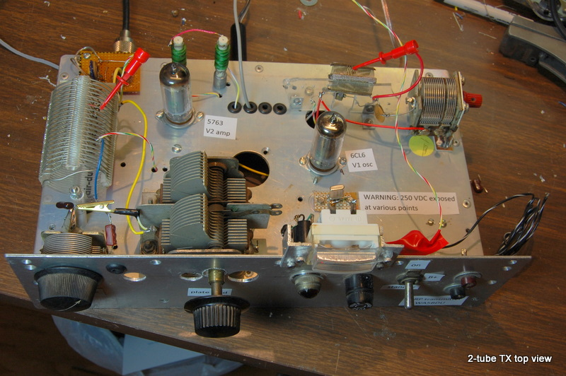 One Tube QRP Transmitter http://pages.suddenlink.net/wa5bdu/2_tube.htm