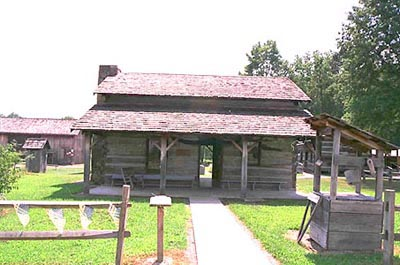 Old Farmhouse Plans 1800s http://pages.suddenlink.net/wvsfm/log_cabins.html